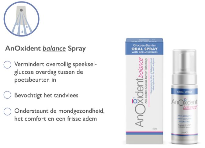 anoxident mondspray diabetes droge mond